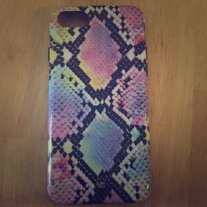 Snakeskin Velvet Caviar iPhone 8 phone case